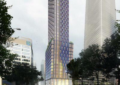 145 Wellington St. W. view of proposed tower from distance